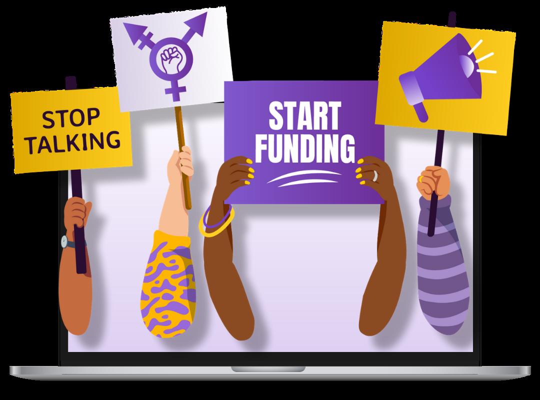 illustration-stop-talking-start-funding